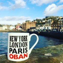 Mug - New York London Paris Oban - exclusive to Orsay Oban