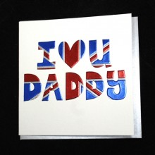 Birthday card Dad - I love you Daddy