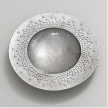 Floating Hearts pewter large dish
