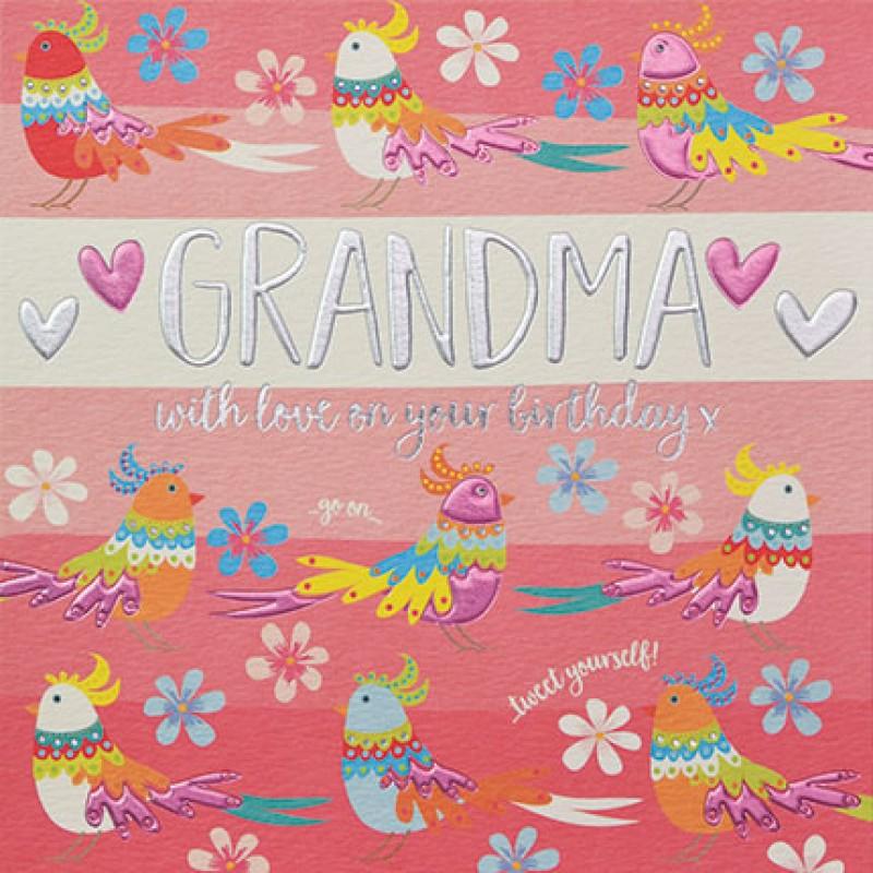 Birthday Card Grandma