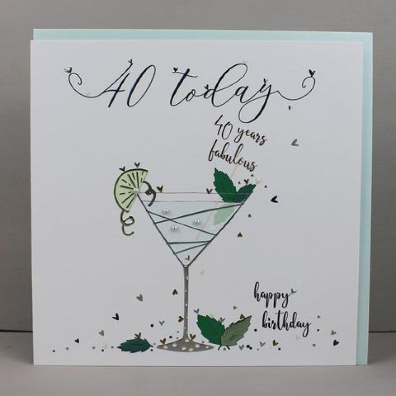 Birthday Card 40