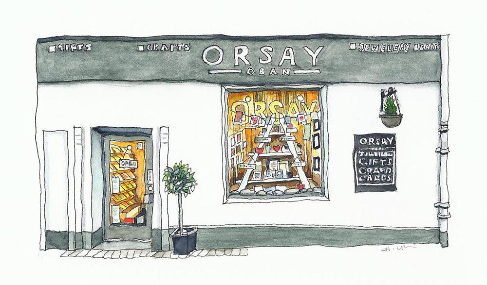 Orsay Oban - Shop Illustration